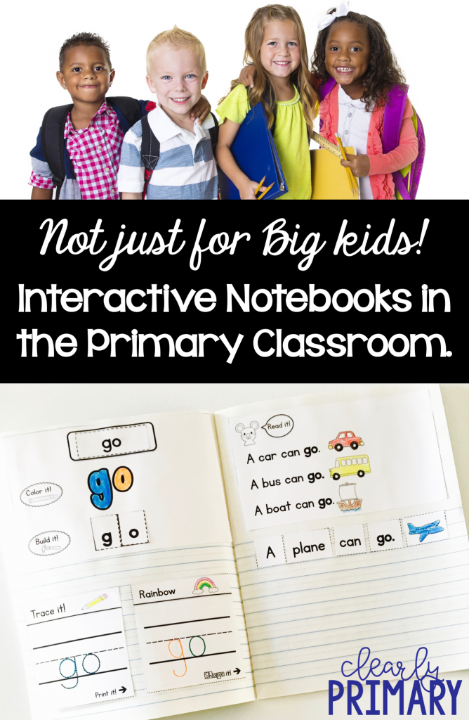 Interactive Notebooks in the Primary Classroom