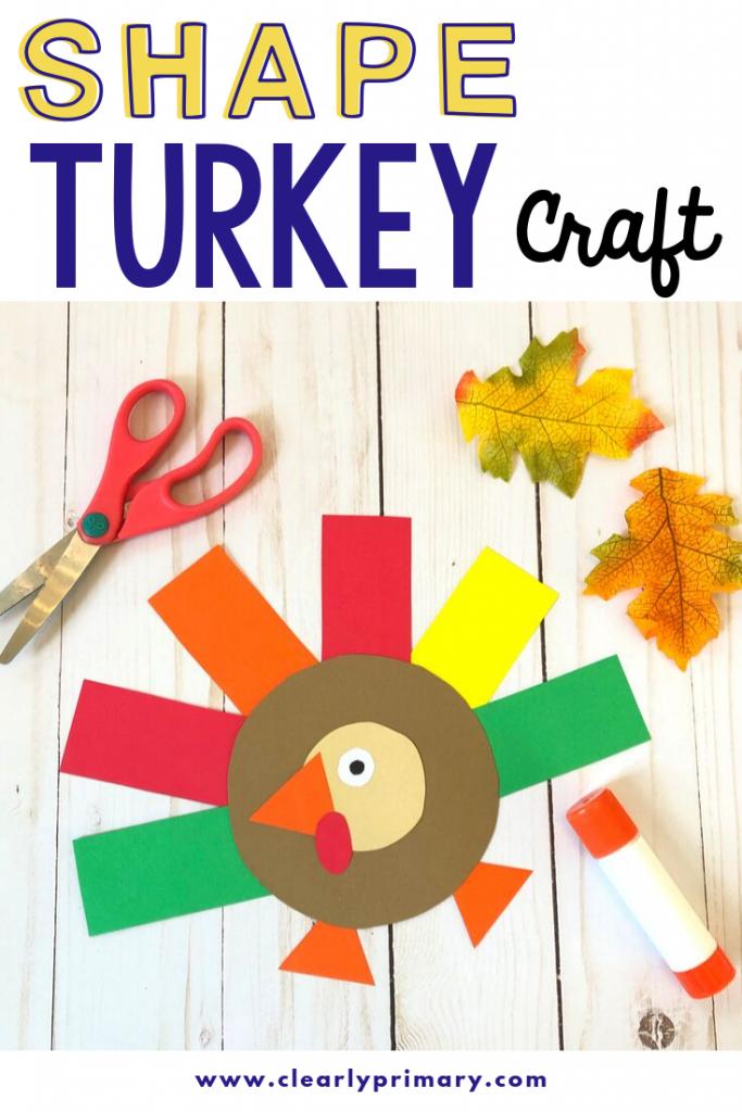 Shape Turkey Craft