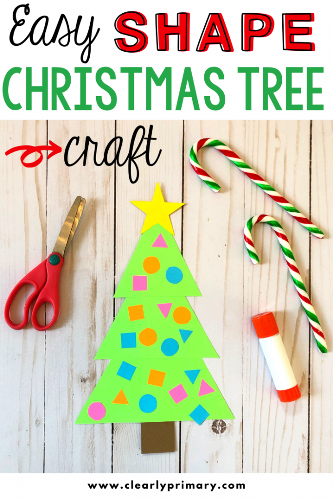 Easy Christmas Tree Shape Craft