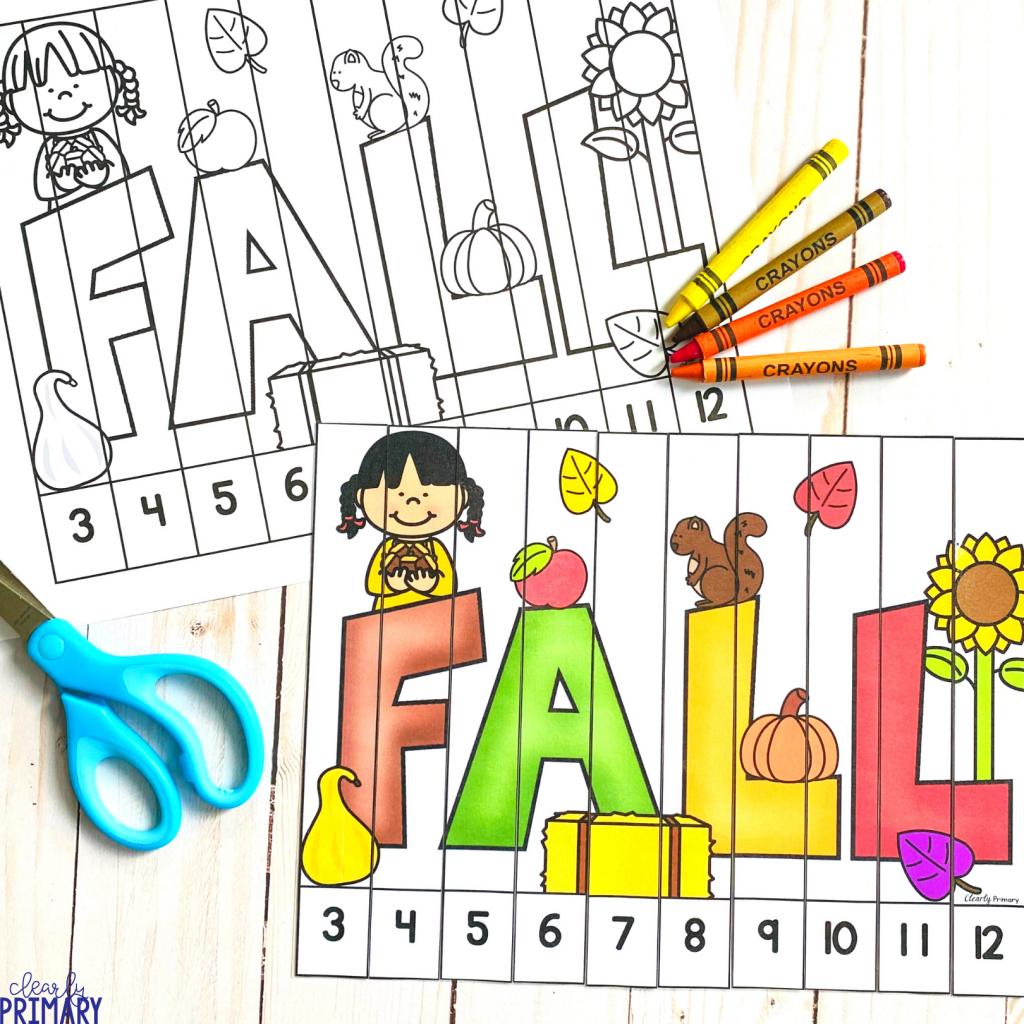 Fall Math Puzzles