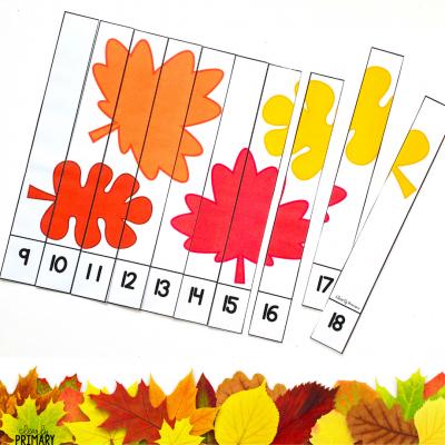 Fall Math Puzzle